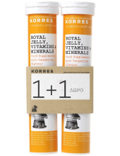 Korres Royal Jelly, Vitamins & Minerals, 2x18 effervescent tabs