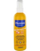 MUSTELA Mustela Bebe High Protection Sun Spray Spf50+ 200ml