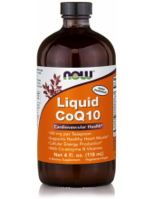 NOW CoQ10 Liquid Orange Flavor 100mg (118,3ml)