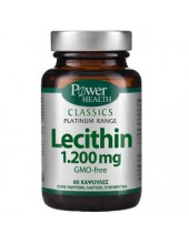 POWER HEALTH Classics Lecithin 1.200mg 60 Caps