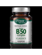 POWER HEALTH Classics Vitamin B50 Complex 30 Caps
