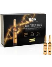 ISDIN Flavo-C Melatonin Night Recovery Serum, 30 ampoules x 2ml