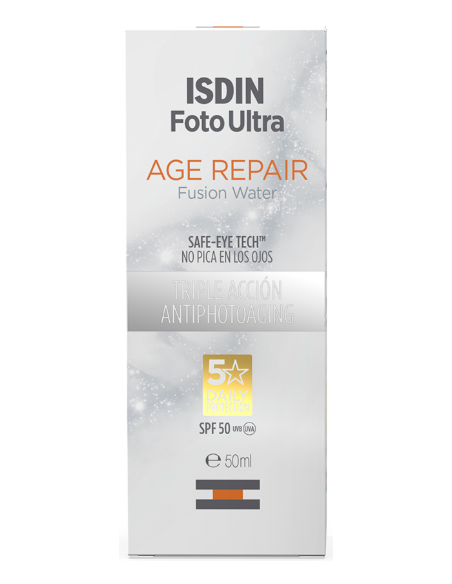 ISDIN FotoUltra Age Repair Fusion Water Safe-Eye Tech 50SPF, 50ml