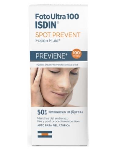 ISDIN FotoUltra 100 Stop Prevent Fusion Fluid SPF50+, 50ml
