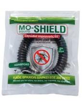 Mo-Shield BAND - απωθητικό βραχιόλι Μαύρο