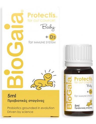BIOGAIA Protectis Baby +D3 Drops 5ml