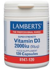 LAMBERTS Vitamin D3 2000iu...