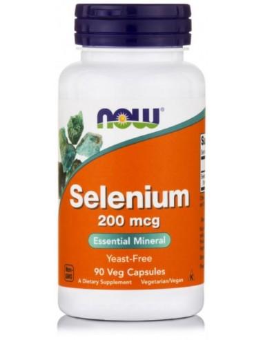 NOW Selenium 200mcg Yeast free, 90...
