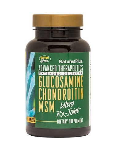 NATURE'S PLUS Glucosamine Chondroitin MSM Ultra RX-Joint 90 Tabs