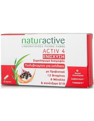 NATURACTIVE Activ 4 Ενίσχυση 28 καψουλες
