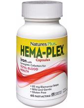 NATURE'S PLUS HEMA PLEX Caps 60