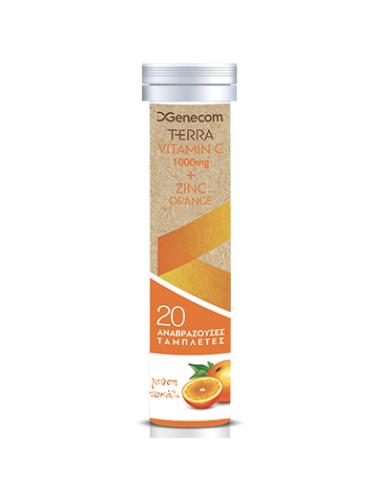 GENECOM Terra Vitamin C 1000mg +...
