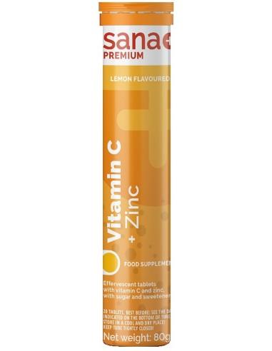 Sana Plus Vitamin C 1000mg & Zinc,...