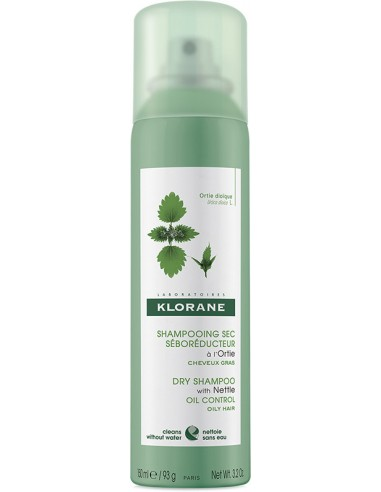 KLORANE Dry Shampoo with Nettle (Ortie - Εκχύλισμα Τσουκνίδας) 150ml