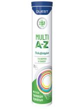 QUEST Multi A-Z Vitamins 20 αναβράζοντα δισκία