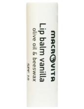 MACROVITA Lip Balm Vanilla SPF10 with Olive Oil & Beeswax