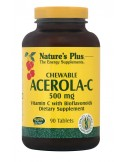 NATURE'S PLUS ACEROLA-C 500mg 90 Chewable Tabs