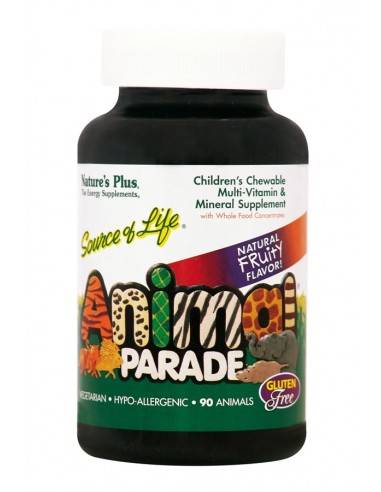 NATURE'S PLUS Animal Parade Assorted  90 Chewable Tabs