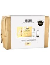 ISDIN Instant Flash Set, 5 ampoules x 2ml & K-Ox Eyes 3gr & Micellar Solution 4 in 1 30ml