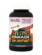 NATURE'S PLUS Animal Parade Gummies Assorted 50 Gummies