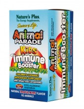 NATURE'S PLUS Animal Parade Kids Immune Booster 90 Chewable Tabs