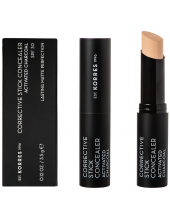 KORRES Corrective Stick Concealer Activated Charcoal SPF30 ACS2, 3.5g