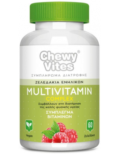 TLC Chewy Vites Adults Multivitamin Complex 60 ζελεδάκια