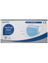 KY Medical Mask Non-Sterilized HYMM021, 50 τεμάχια