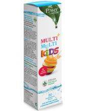 POWER HEALTH Multi + Multi Kids Stevia 20 αναβράζοντα δισκία