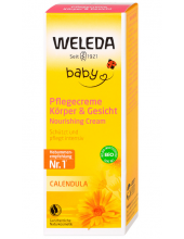 WELEDA Baby Κρέμα Καλέντουλας για Πρόσωπο & Σώμα 75ml
