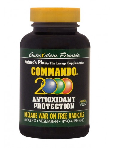 NATURE'S PLUS Commando 2000, 60 Tabs