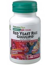 NATURES PLUS Red Yeast Rice / Gugulipid 450mg 60 veg. caps