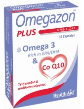 HEALTH AID Omegazon Plus - Omega 3 & CoQ10 30mg - 30 caps