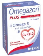 HEALTH AID Omegazon Plus - Omega 3 & CoQ10 30mg - 60caps