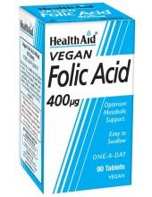 HEALTH AID Folic Acid 400μg 90 Tabs
