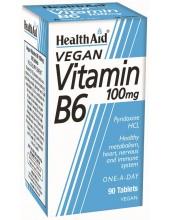 HEALTH AID Vitamin B6 100 tabs