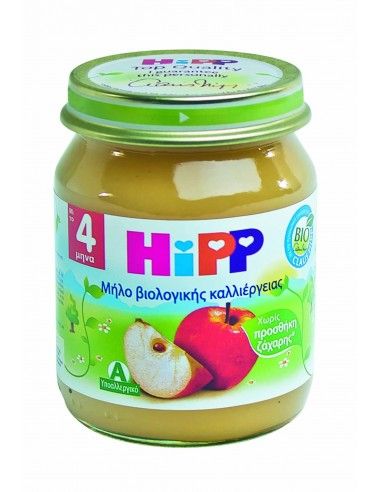 HIPP ΒΡΕΦΙΚΗ ΦΡΟΥΤΟΚΡΕΜΑ ΜΗΛΟΥ 125gr