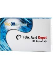Viogenesis Folic Acid 600μg Depot 90 tabs