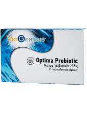 Viogenesis Optima Probiotic 22 Billion 30 Enteric coated caps