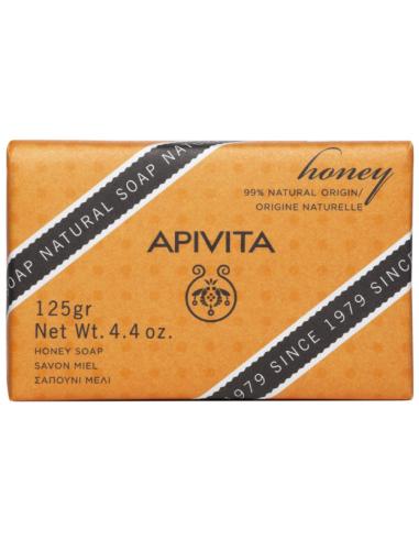 APIVITA Natural Soap with Honey 125 gr
