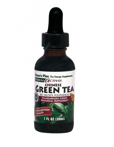 NATURE'S PLUS LIQUID GREEN TEA CHINESE 267 MG 1 OZ.