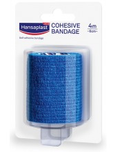 HANSAPLAST Cohesive Bandage 6cm x 4m
