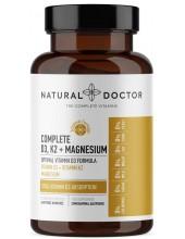 NATURAL DOCTOR Complete D3, K2 & Magnesium 60 Veg.Caps