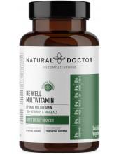 NATURAL DOCTOR Be Well Multivitamin, 60 Veg.Caps