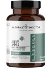 NATURAL DOCTOR 20 Free Aminos, Vegan Amino Acids, 120 Veg.Caps