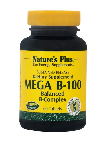 NATURE'S PLUS MEGA B-100 S/R Tabs 60