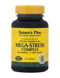 NATURE'S PLUS MEGA-STRESS COMPLEX S/R Tabs 30