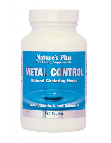 NATURE'S PLUS METAL CONTROL Tabs (120)