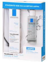 La Roche-Posay Toleriane Ultra Cream 40ml & ΔΩΡΟ Eau Micellaire Ultra 50ml