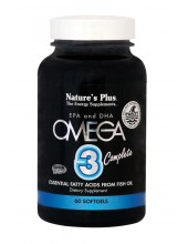 NATURE'S PLUS OMEGA 3 COMPLETE Softgels 60
